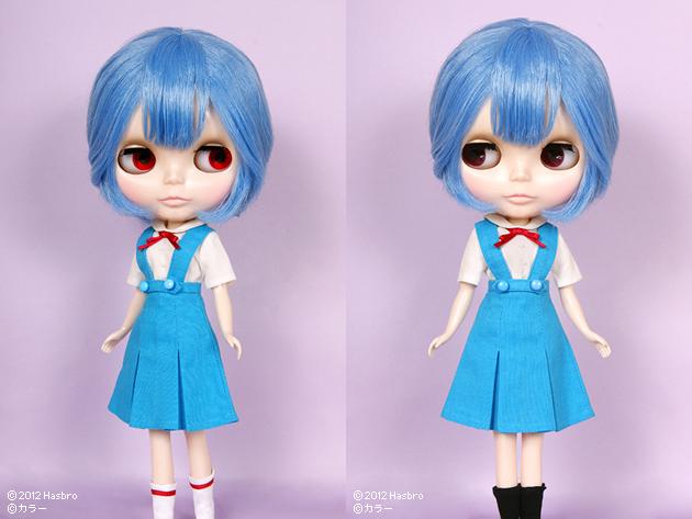 [Poupée] Ayanami Rei Meets Blythe - décembre 2012 201211009ayanamireiseifuku01_pc