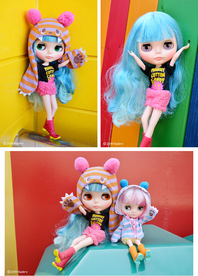 Mandy is going to the amusement park with her best friend Yellow