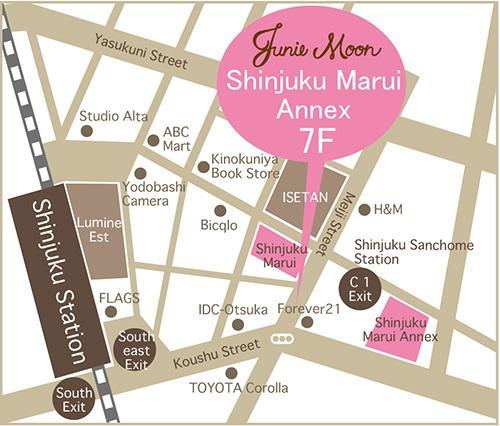 JM新宿マルイMAP