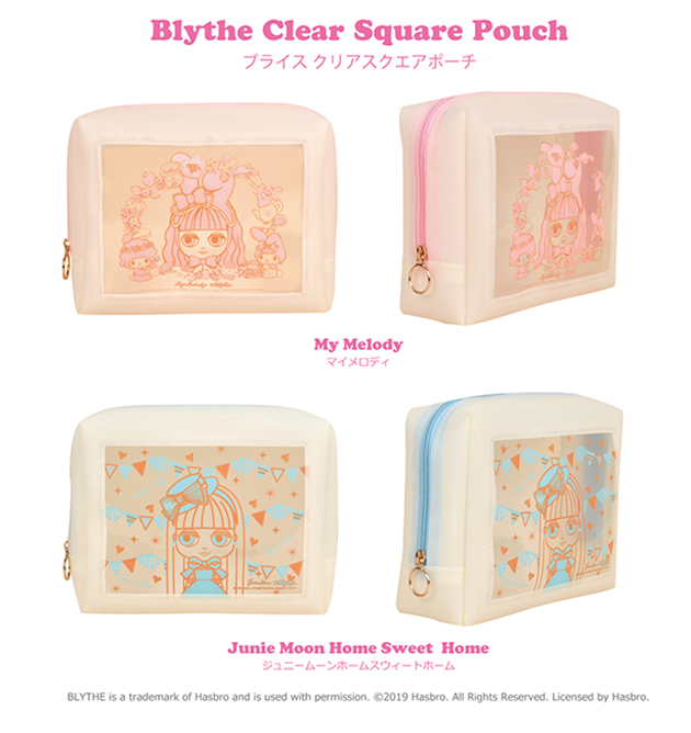 a745764ed9c Blythe Clear Square Pouch! 2017SS BLレザーコインケース